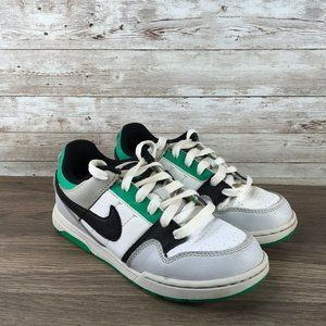 Nike Mogan 2 Boys Size 2Y Gray Green Black